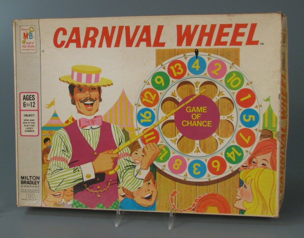 Carnival Wheel by Milton Bradley 1973