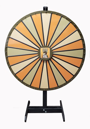 "48"" Insert Your Own Graphics Prize Wheel"